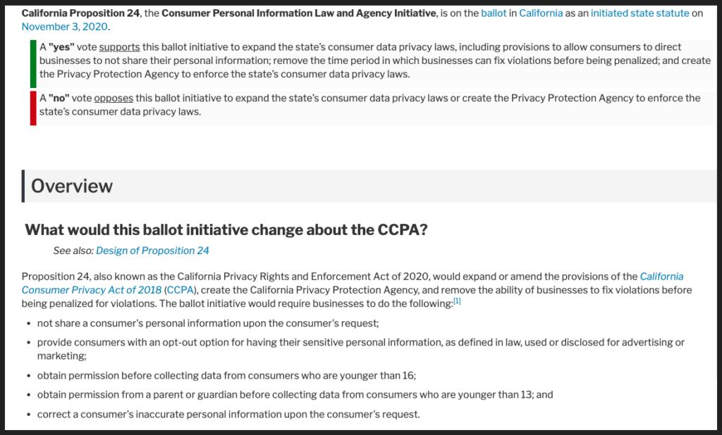 CPRA plain text